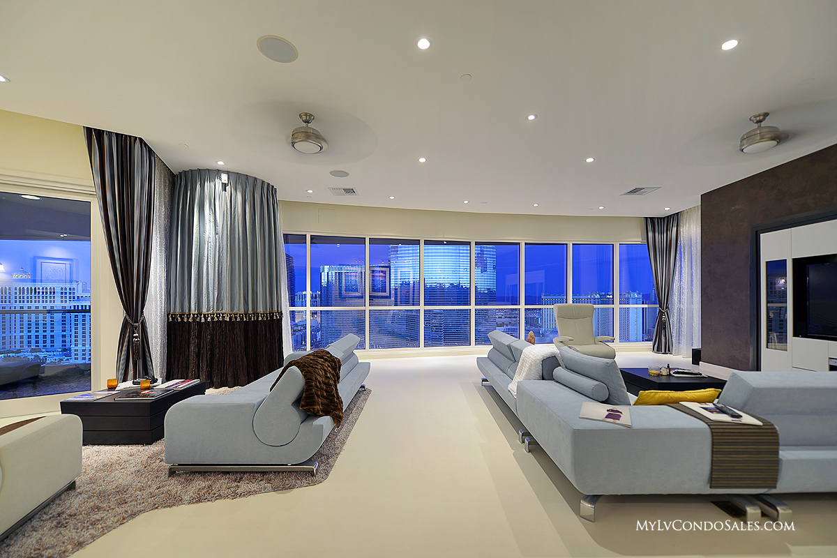 Luxury Real Estate Management S Newest Residence At Panorama Towers 2703 Las Vegas Condos For